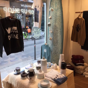 ana deman, manusurf, paris, vente, pop up, rue charlot, wild and the moon, decoration , surf, fashion