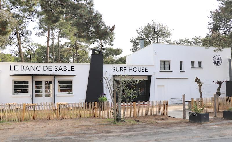 bar, restaurant, le banc de sable, ana deman, manusurf, concept store, plage, les conches, longeville sur mer