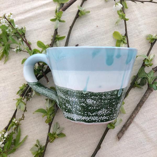 tasse ana deman annette van ryhsen ceramique art de la table, vendee