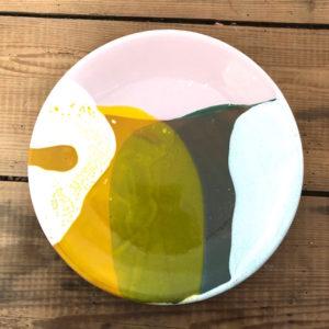 grande assiette plate annette van ryhsen longeville sur mer ceramique fait main