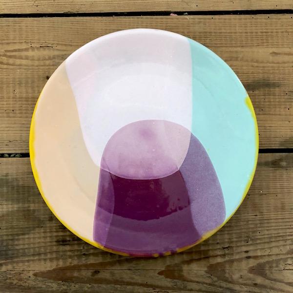 grande assiette plate en ceramique annette van ryhsen