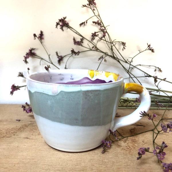 grande tasse en céramique fait main en vendee par annette van ryhsen