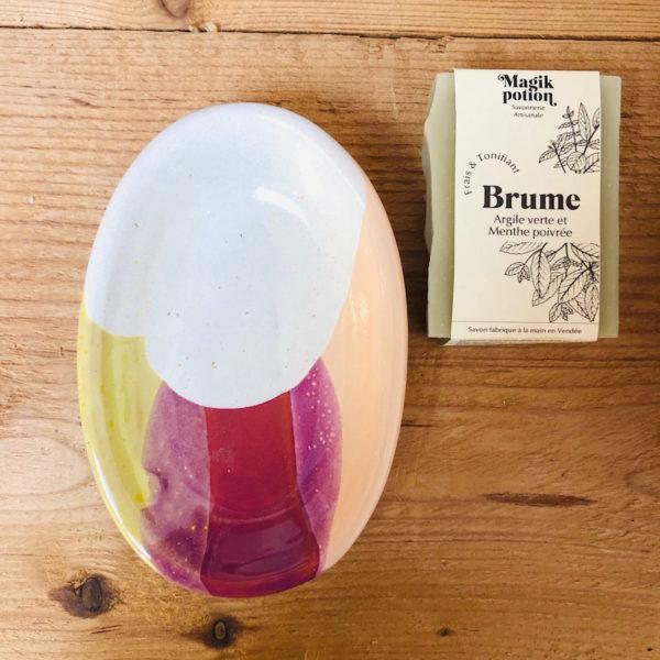 porte savon fait main en vendée